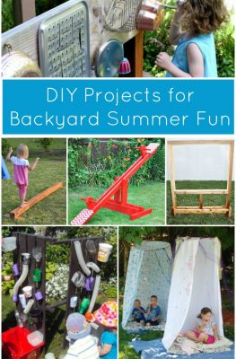 Summer DIY Projects for Backyard Fun