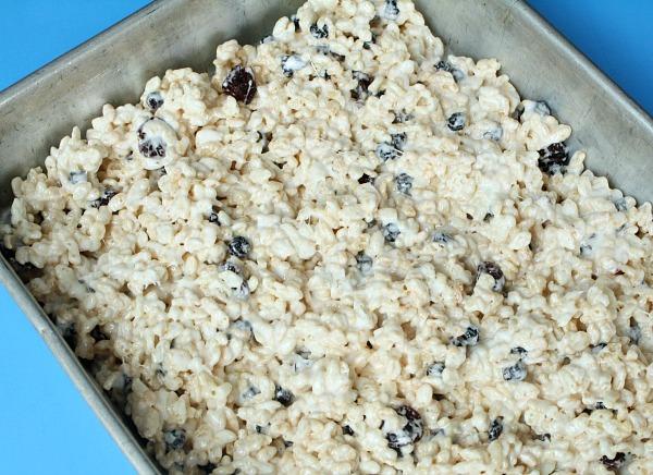 Marshmallow Treats in Pan