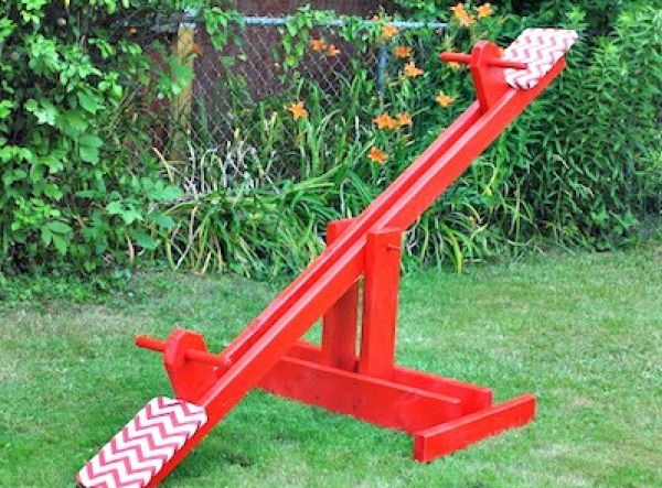 DIY Seesaw tutorial