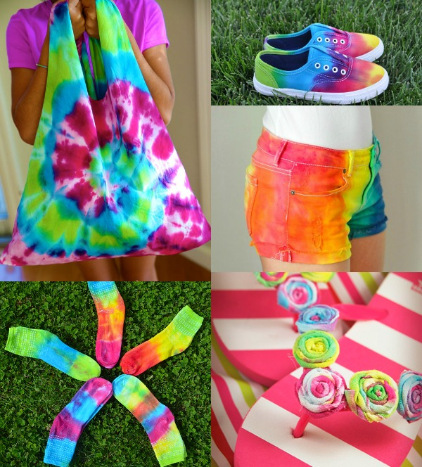 Totally awesome summer tie dye tutorials fantastic fun for How do you dye a shirt