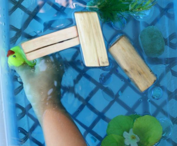 diving ducks preschool play