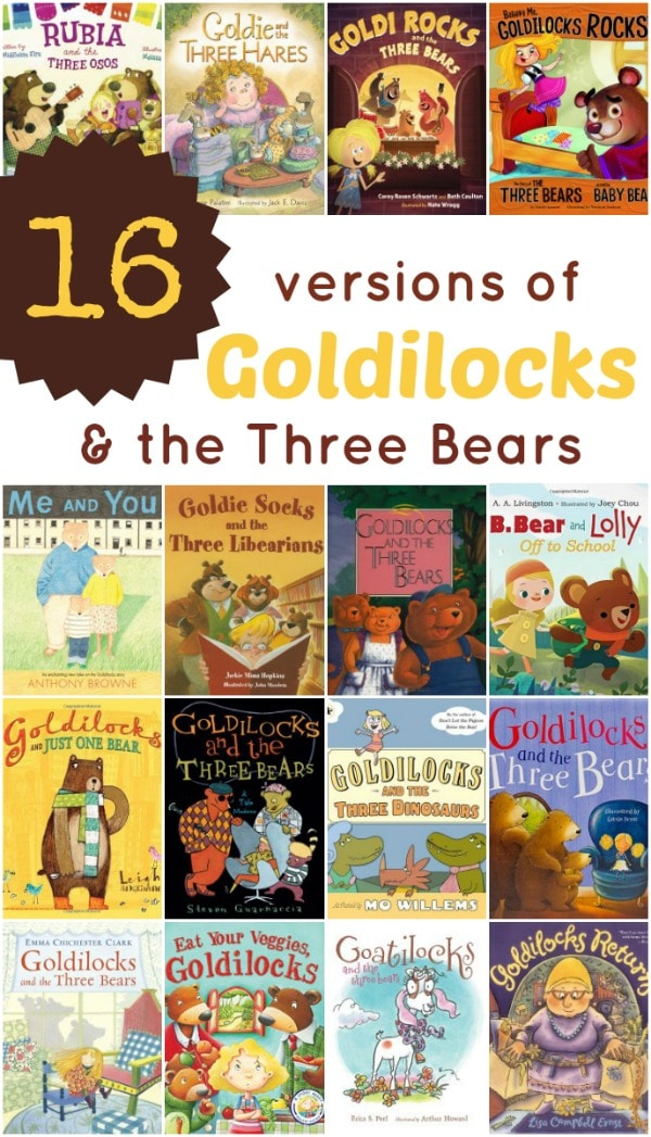 16 Versions of Goldilocks and the Three Bears that Kids Will Love