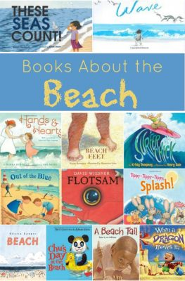 Books About the Beach~Great summer reading for kids