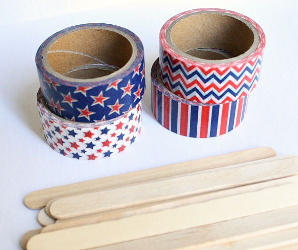 Materials for Washi Stars