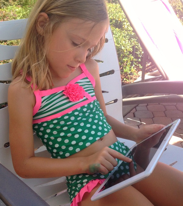 On the Go Learning Activities with a Tablet