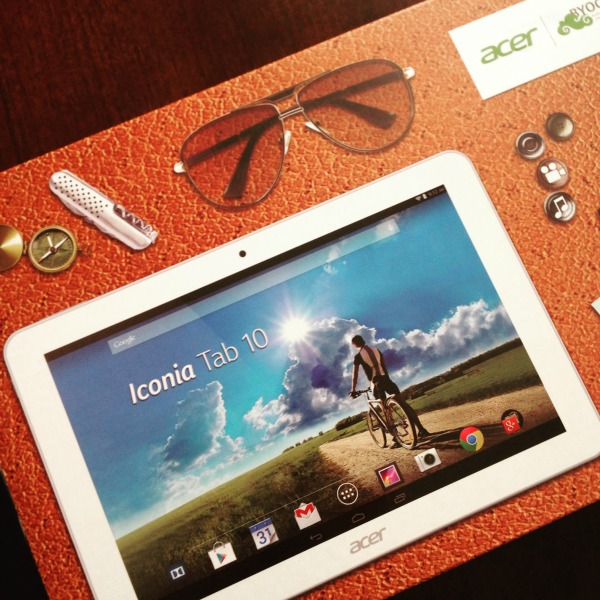 The Iconia Tab 10