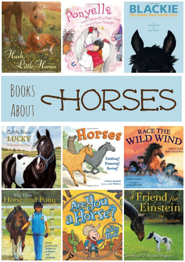 Books About Horses-Includes fiction and nonfiction books for kids