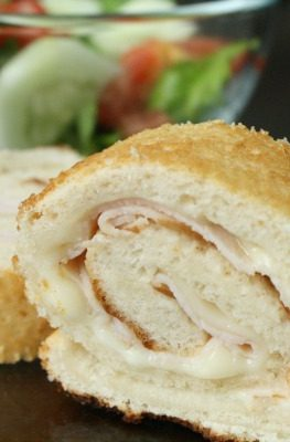 Easy Turkey Roll-Ups Kids Lunch Recipe