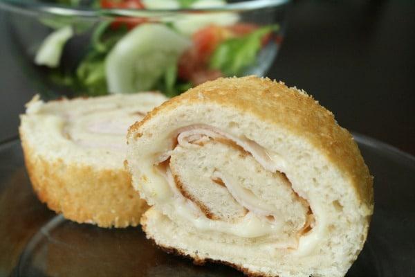 Easy Turkey Roll-Ups Kids Lunch Recipe