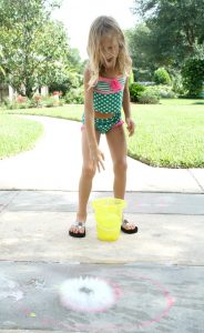 Water Balloon Math-Doubles Rap and Splash