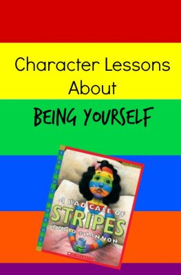 Character Lessons to go with a Bad Case of Stripes