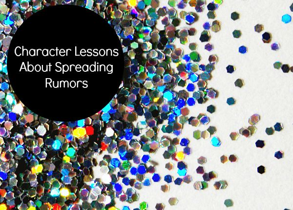 FB-Character Lessons About Spreading Rumors