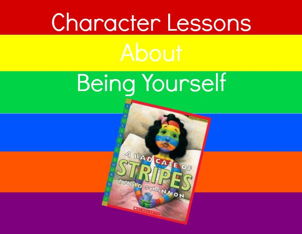 Character Lessons to go with a Bad Case of Stripes Fantastic Fun – A Bad Case of Stripes Worksheets