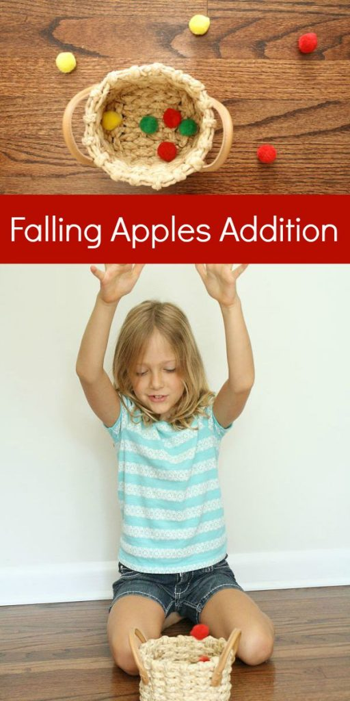 Falling Apples Fall Addition Activity
