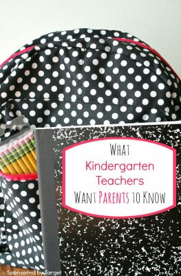 What Kindergarten Teachers Want Parents to Know About Back to School