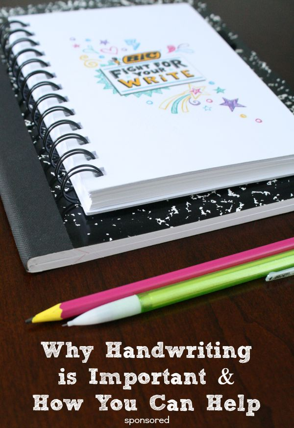 Why Handwriting is Important and How You Can Help at Home