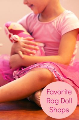 Best places to find a rag doll for girls and boys...such a precious gift for Christmas, birthdays, and just because!