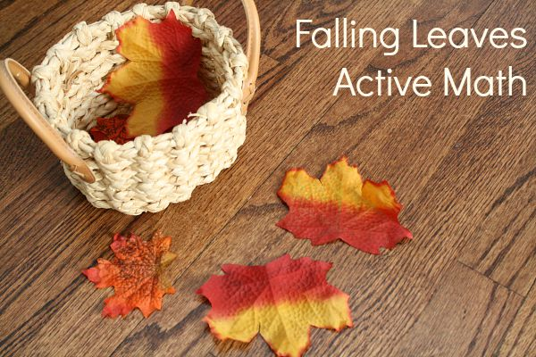 Falling Leaves Active Math Activity