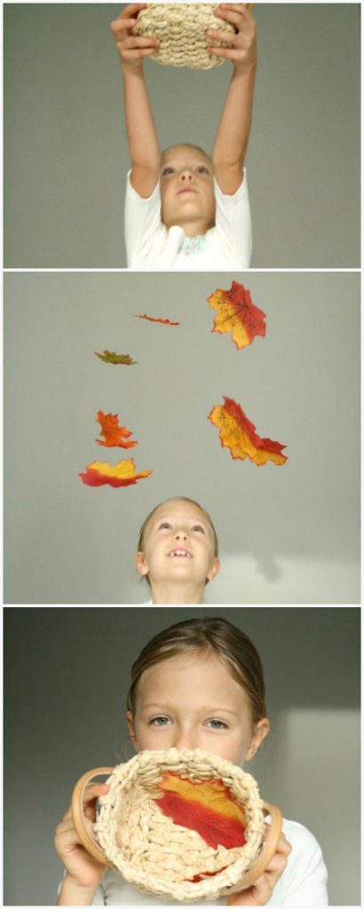 Falling Leaves Math Activity for Kids-Includes ideas for practicing counting and addition