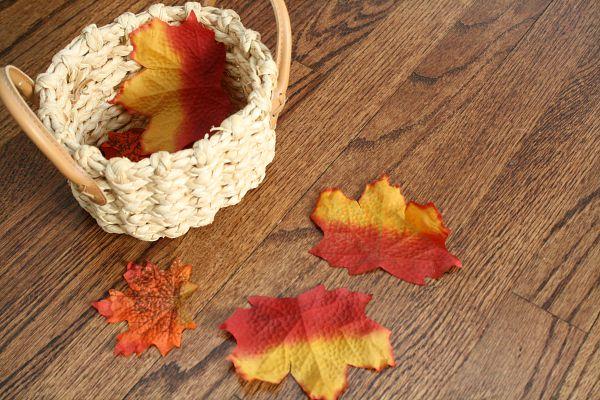 Falling Leaves Math Game