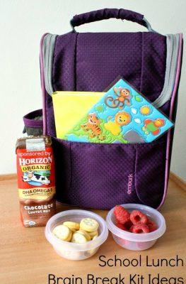 School Lunch Brain Break Kit Ideas