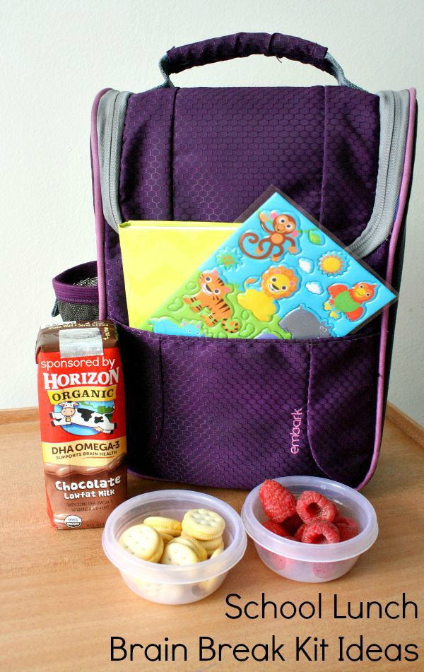 School lunch brain break kit ideas fantastic fun learning in addition to providing quality food and snack options you can help prepare kids for forumfinder Images