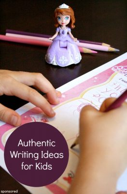 Motivate reluctant writers by using authentic writing activities that they will enjoy