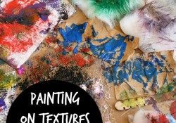 Painting on Textures Sensory Art and a New Book
