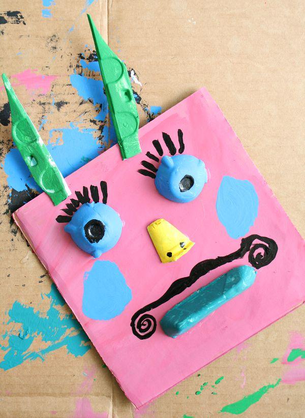 Silly Monster Art for Kids