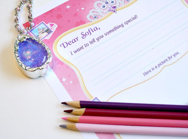 Write a Letter to Sofia the First and get a letter back!