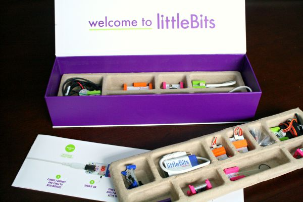littleBits Premuim Kit-magnet circuit toy for kids