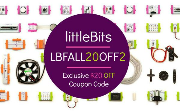 littlebits educational toy-promo code