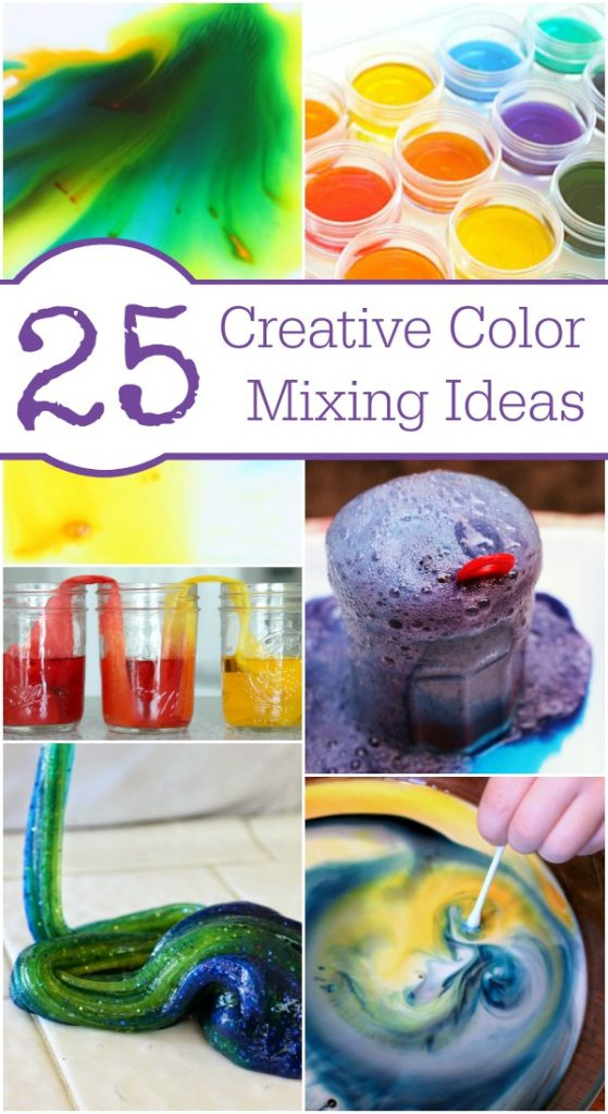 Coloring for Kids color mixing kids : Fun Ideas for Mixing Colors - Fantastic Fun & Learning