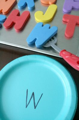 ABC Cookies Preschool Alphabet Activity