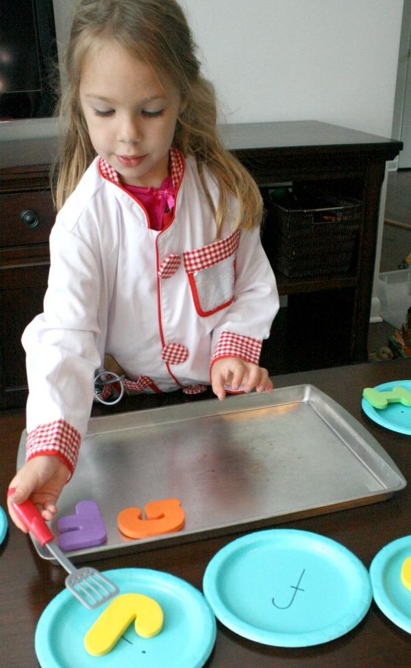 Alphabet Cookie Preschool Learning Activity