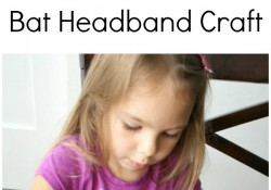 Bat Headband Halloween Craft