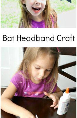Bat Headband Halloween Craft