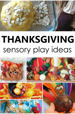 Thanksgiving Sensory Play Activities for Kids