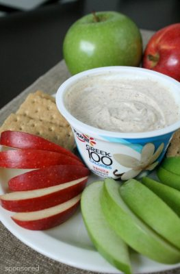 Apple Pie Yogurt Dip Recipe