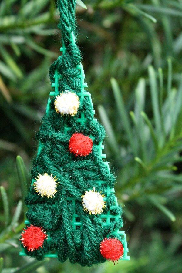 Easy Handmade Christmas Ornament for Kids