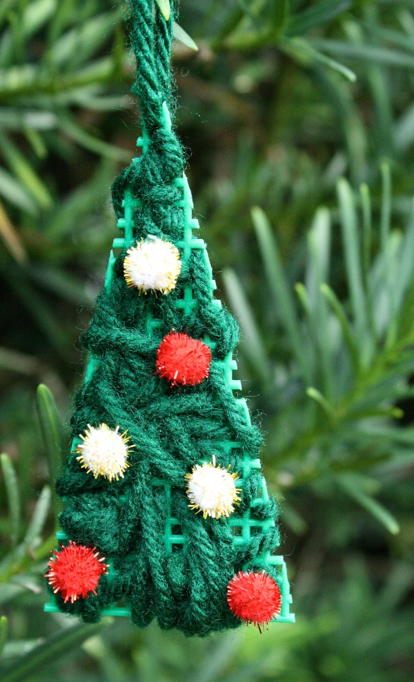 Kid-Made Christmas Tree Ornament - Fantastic Fun & Learning