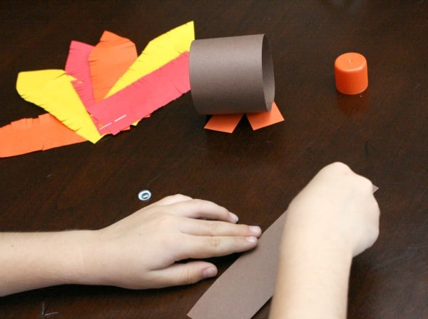 How to Make Paper Roll Thanksgiving Turkey Craft