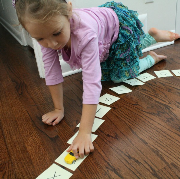 Letter Recognition Activity for Preschool