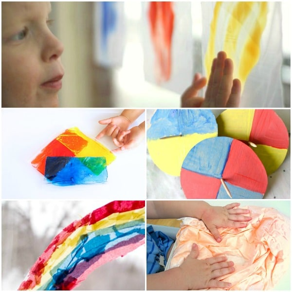 Mess-Free Color Mixing Activities