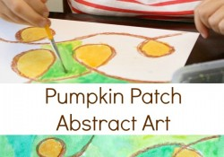 Pumpkin Patch Loop Fall Art