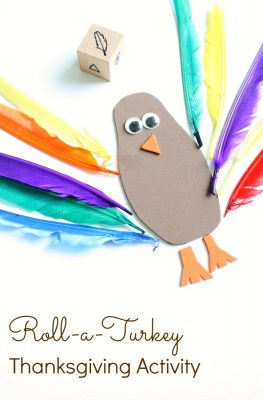 Roll-a-Turkey Thanksgiving Activity