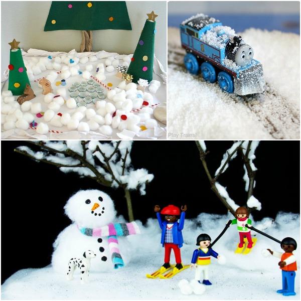 Snow Small World Play