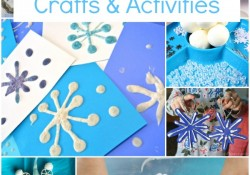 Winter Snowflake Crafts and Activities