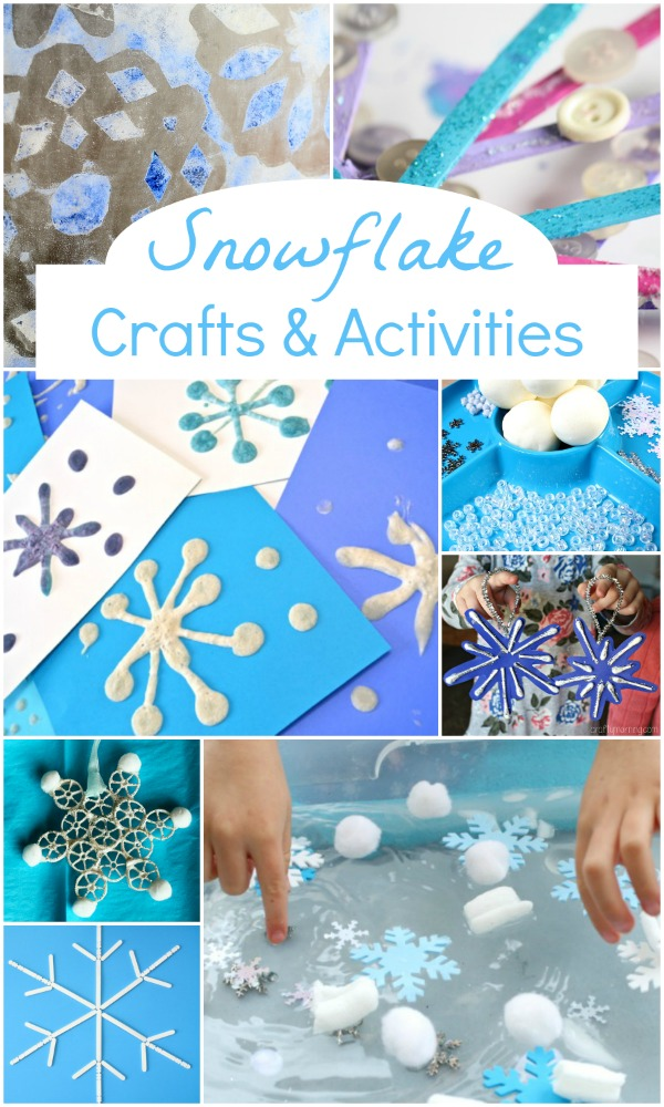 Snowflake Crafts & Activities