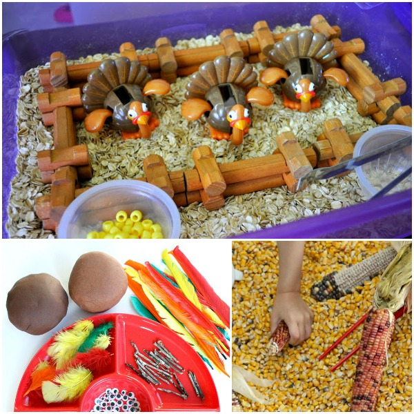 Thanksgiving Sensory Play-3